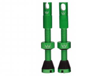 Valves Tubeless Peaty's x Chris King MK2 60mm Emerald
