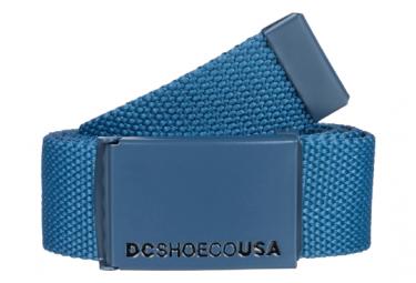 Ceinture DC Shoes Web Bleu