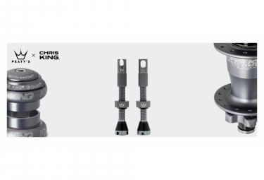 Valves Tubeless Peaty's x Chris King MK2 42mm Slate