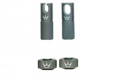 Image of Accessoires de valve tubeless peaty s x chris king mk2 slate