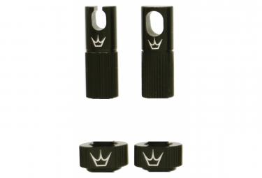 Accesorios para valvulas sin camara de peaty  39 s x chris king  mk2  negro