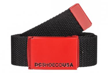 Ceinture DC Shoes Web Noir / Rouge