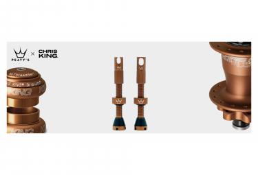 Valves Tubeless Peaty's x Chris King MK2 42mm Bourbon