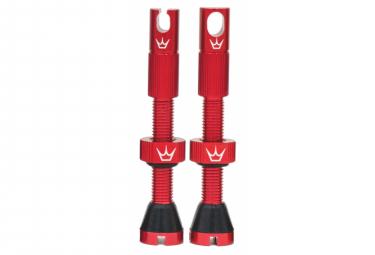 Valves Tubeless Peaty's x Chris King MK2 60mm Rouge