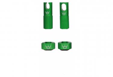 Image of Accessoires de valve tubeless peaty s x chris king mk2 emerald