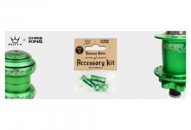 Accessoires de Valve Tubeless Peaty's x Chris King (MK2) Emerald