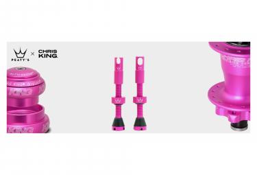 Valves Tubeless Peaty's x Chris King MK2 60mm Punch