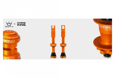 Valves Tubeless Peaty's x Chris King MK2 60mm Mango