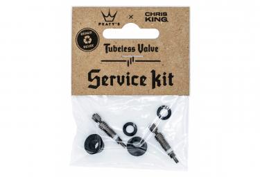Kit de servicio tubeless peaty  39 s x chris king mk2