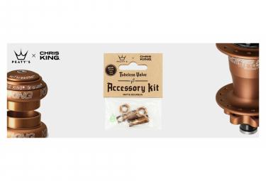 Accessoires de Valve Tubeless Peaty's x Chris King (MK2) Bourbon