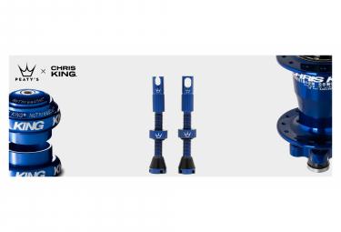 Valves Tubeless Peaty's x Chris King MK2 60mm Navy