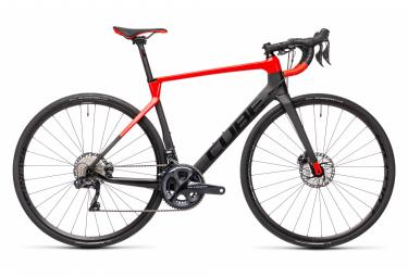 Cube Agree C:62 SL Road Bike Shimano Ultegra Di2 11S 700 mm Carbon Grey Red 2021