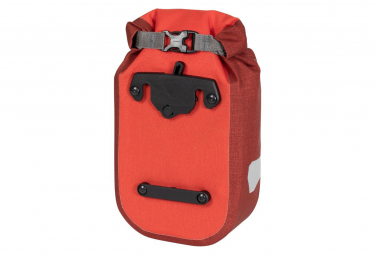 Sacoche de Fourche Ortlieb Fork-Pack Plus 4.1L Rouge Signal Dark Chili
