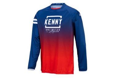 Maillot Manches Longues Kenny Elite Kid Bleu / Rouge