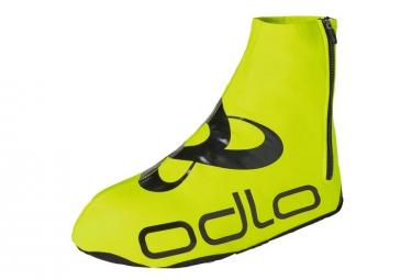 Cubrezapatillas Odlo Zeroweight Amarillo Neon   Negro 42 44