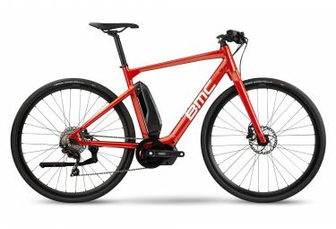 Vélo de Ville Électrique Sportif BMC Alpenchallenge AMP AL Sport One Shimano 105 11V Rouge 2021