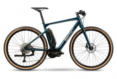 Vélo de Ville Électrique Sportif BMC Alpenchallenge AMP AL Cross One Shimano Deore 10V Bleu 2021