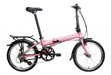 Vélo Pliant Dahon Mariner D8 Shimano Altus 8V Rose 2020