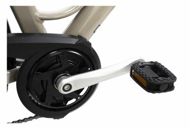 VTC électrique 28 Aluminium Optima Deluxe Beige 250W Li-Ion 36V/13 Ah/468 Wh 7 vitesses