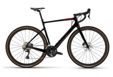 Gravel Bike Cervélo Aspero 700 Disc Shimano GRX RX810 2x11V Schwarz / Rot 2021