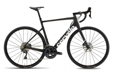 Bicicleta de carretera Cervélo Caledonia Disc Shimano Ultegra 11S negro blanco 2021