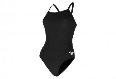 Maillots de bain de compétition Michael Phelps Solid Mid Back Femme
