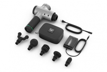 Pistolet de massage Hyperice Hypervolt Bluetooth Gris