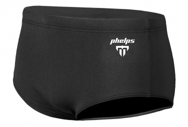 Michael Phelps Solid 14cm Brief Jammer Negro Hombre 80 Cm
