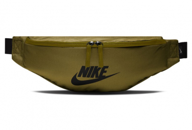 Image of Ceinture banane nike sportswear heritage olive flack noir