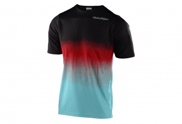 Troy Lee Designs Skyline Kurzarmtrikot Schwarz / Blau
