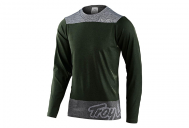 Troy Lee Designs Skyline Langarm Jersey Oliv / Grau