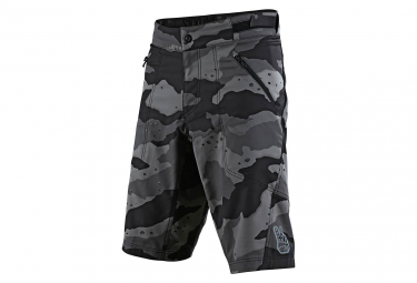 Troy Lee entwirft Skyline Camo / Grey Skinless Shorts