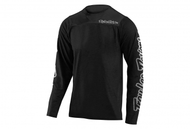 Troy Lee Designs Skyline Langarm Jersey Schwarz
