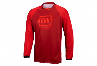 Maillot Manches Longues Kenny Defiant Rouge