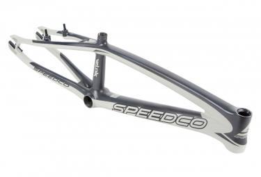 Cadre BMX SPEEDCO velox expert xl carbone 20' OD 1-1/8' matt concrete