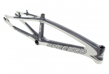 Cadre BMX SPEEDCO velox pro xxl carbone 21.75' OD 1-1/8' matt concrete