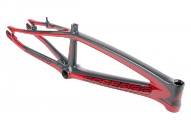 Cadre BMX SPEEDCO velox pro xxl carbone 21.75' OD 1-1/8' shiny redwine