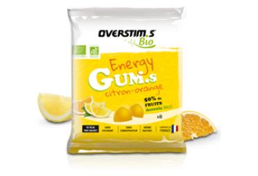 Energy Gums Bio Overstim  39 S Lemon Orange