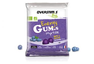 Energy Gums Bio Overstim's Myrtilles