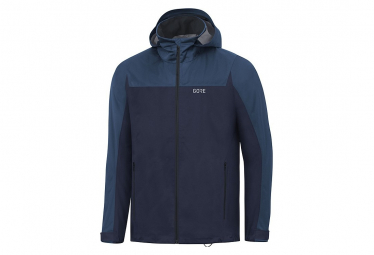 Veste à capuche Gore R3 GTX Active orbit blue/deep water blue