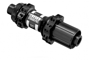 Buje trasero DT Swiss 350 de tiro recto y 28 orificios | 12x142mm | Centerlock