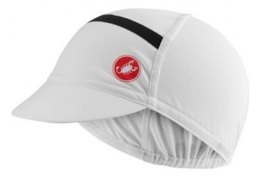 Casquette Castelli Ombra Cycling Blanc