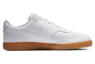 Chaussures Nike Court Vision Low Blanc / White Photon Dust Gum Light Brown