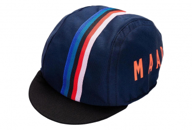 Image of Casquette maap world cap navy bleu