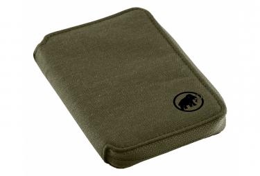 Porte-Feuille Mammut Zip Wallet Mélange Vert