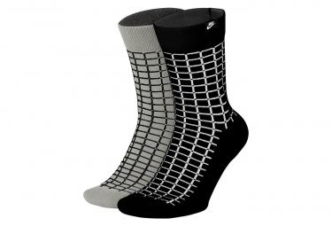 Pares De Calcetines  X2  Nike Sportswear Snkr Multi Color Black   Grey L