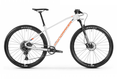 MTB Semi Rígida Mondraker Chrono 29'' Blanc / Orange 2021