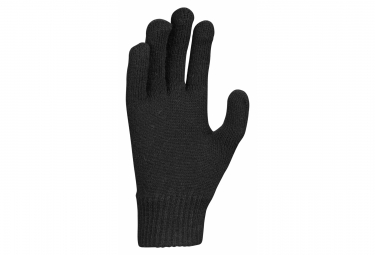 Gants tricot Nike Swoosh Knit 2.0 Noir
