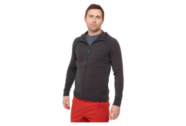 Rab Nexus Jacket Chaqueta De Forro Polar Tecnico Con Capucha Negro Hombre S