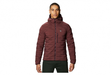 Doudoune Mountain Hardwear Super DS Stretchdown Hooded Prune